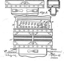 Altes Akkordeon, Konzertina HOHNER, MEINHOLD..: histor. Dokumente 1854 - 1920