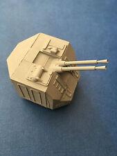 Model Boat Fittings  CMBP107 Gun Turret 57mm