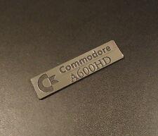 Commodore Amiga 600 HD Label / Logo / Sticker / Badge 49 x 13 mm [261b]
