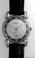 Rare Vintage Longines Huge Fancy Lugs Retro Mens Wrist Watch