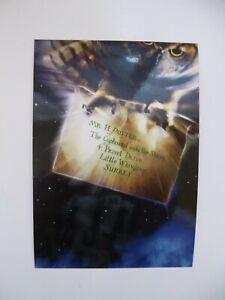 New Warner Bros Studio Tour Harry Potter Hedwig Hogwarts Letter Postcard