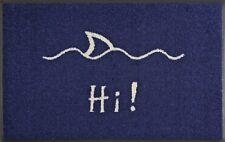 waschbare Fußmatte HI! Hai Türmatte maritim Fußabstreifer wash+dry 50x75 cm