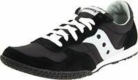 Saucony Originals Men's Bullet Classic Sneaker, Black/Silver, Size  x1OY