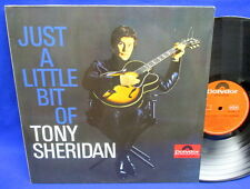 LP TONY SHERIDAN & BEAT BROTHERS (BEATLES) - JUST A LITTLE BIT OF / RE GERMANY
