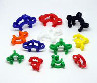 18mm + 14mm + 10mm KECK CLIPS | GLASS ADAPTER CONNECTORS | JOINT CLIPS | US