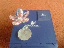 Swarovski Crystal Rocking Flower LOU Retired MIB