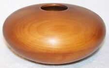 KAURI WOOD BOWL SIGNED BY ARTIST - NEW ZEALAND