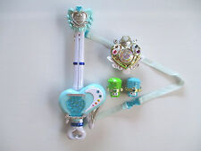 Sweet Suite Precure Transformation Brooch Love Guitar Rod Stick Cosplay Used