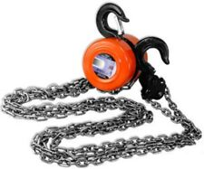 4000 LB 2 Ton Manual Operated Chain Fall Engine Hoist Block and Tackle Lift Tool