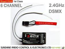 RC RX Storm S603 Receiver Better Than Spektrum AR610 6CH Full Range DSMX 2.4GHZ