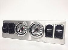 4 Path Manual Valve System with Dual Needle Gauges Air Lift Air Suspension