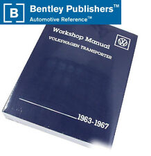 VW Transporter 63-67 Repair Manual OE Authorized Bentley VW8000267 NEW