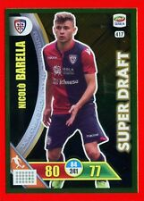 CALCIATORI 2017-2018 18 -Adrenalyn Panini- n. 417 - BARELLA-CAGLIARI-Super draft