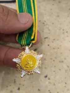 MALAYSIA Pahang pingat Meritorious Service medal MEDALLION Sultan  miniture
