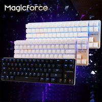 Magicforce 68 Keys Wired Backlit Usb Ergonomic Mini Mechanical Gaming Keyboard