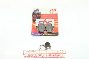 SBS Carbon Tech Rear Back Brake Pads 941rq D4