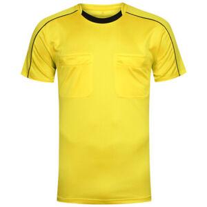 adidas Referee Herren Fußball Schiedsrichter Trikot Shirt AH9802 Gr. S gelb neu