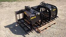 "New 66"" Brush Grapple. Grade 50 steel, Fits skid steer, kubota, bobcat, tractor"