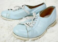 Linds Bowling Shoes - Lace Up Womens Size EU 38 US 7 - Pale Blue