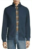 NWT Mens Size medium Russell Athletic Blue Microfleece Zip Up Jacket