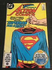 Action Comics#581 Incredible Condition 9.2(1986) Superman For A Day Cover!!