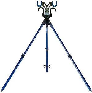 Yaen stand Blue Daiwa Rod holder Rod stand for Battle game