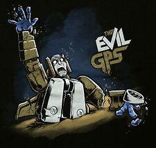 """The Evil GPS"" TFCON Exclusive Transfomers Metalllic Prt Men's Large Shirt Ript"