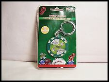 Key Chain Poker Chip Green Dice Poker Hand Royal Flush KeyChain Fob Lucky Charm