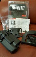 Blackhawk Serpa Light Bearing Right Hand Holster - Glock 17 22 31 - 414500BK-R