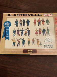 Plasticville #2809 Citizens HO Scale - Unpainted / Brand New Sealed