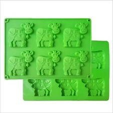 Dairy Cow Silicone Mould Candy Chocolate Cookie Cake Mold Baking Tool