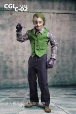 1/6 CGL C-02  Joker Clown Male Clothes Set  F 12'' Action Figure New
