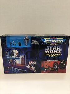Star Wars Micro Machines Transforming Darth Vader Bespin Action Toy Play Set