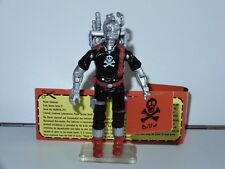 2013 GI JOE / ACTION FORCE RED SHADOWS SKELETRON v2 MIB UK CON EXCLUSIVE BFTB
