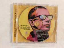 "Nik Kershaw CD ""15 Minutes"" BRAND NEW PROMO CD! NEVER PLAYED!"