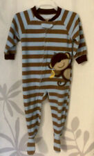 Baby Boy Carter's Monkey Footed Pajamas 12 months