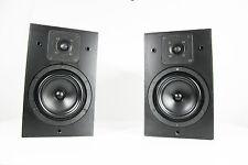 Vintage 2X KEF Reference Series Model 102 baffle enceinte + EQ KUBE 102 monitor