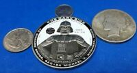 RARE 56TH MILITARY POLICE THE DARK SIDE DARTH VADER PEWTER CHALLENGE COIN