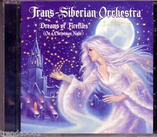 TRANS SIBERIAN ORCHESTRA Dreams Fireflies Christmas Night CD Great SAVATAGE
