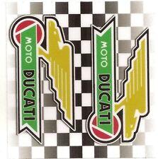 "Sticker "" DUCATI "" 68mm x 65mm BIC Lighter"