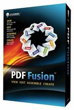 COREL PDF FUSION - PDF Creator Convert View over 100 file types -Windows version