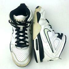 ef23ee43 Mens Nike Air Flight Falcon 8 US Basketball Shoes White Black 397204-150  Sneaker