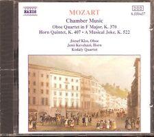 Mozart - Oboe Quartet · Horn Quintet · A Musical Joke
