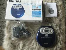 Philips EXP 2301/00 tragbarer MP3 - CD Player blau