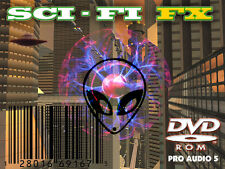 Sci-Fi  FX    -  Special Effects - Space Sounds - Bleeps Noises -Sample DVD .wav