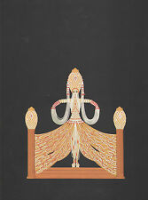 "Classic ERTE' Art Deco Book Plate Print ""Enchantress""  Fashion"