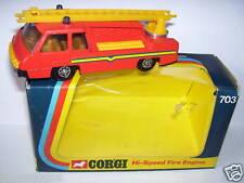 METAL CORGI TOYS HI SPEED FIRE ENGINE ECHELLE POMPIERS