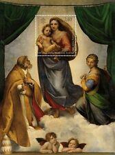 2012 Raffaello: la Madonna Sistina - Vaticano - foglietto
