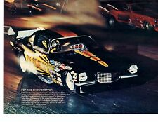 1973 CAMARO FUNNY CAR  -  DALE EMERY  ~  GREAT MAGAZINE PHOTO / POSTER / AD
