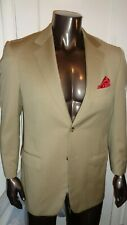WOW ERMENEGILDO ZEGNA TAN SUIT 40R